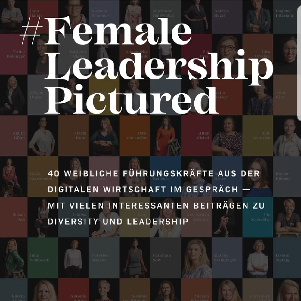 Cover Female Leadership Pictured